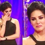 Sunny Leone Crying