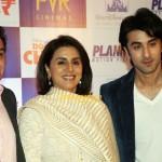 Ranbir Kapoor and his parents