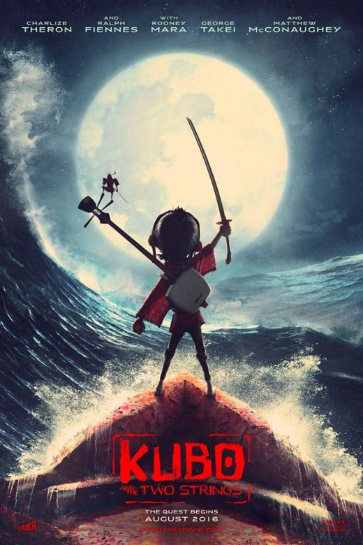 """Trailer Animated Movie """"Kubo and the Two Strings"""""""