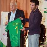 Pakistan team Edhi Foundation T-shirt Logo for England series