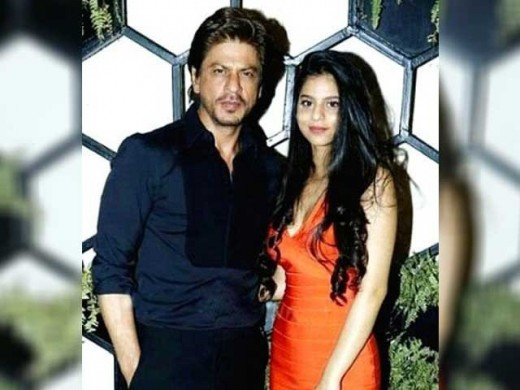 Shahrukh Khan and Her Daughter Sohana Khan