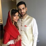 Zaid Ali with Wife