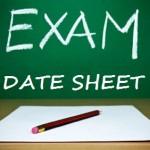Punjab Boards Matric Supply Date Sheet 2017