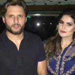 Afridi and Zareen Khan