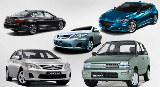 Cars in pakistan