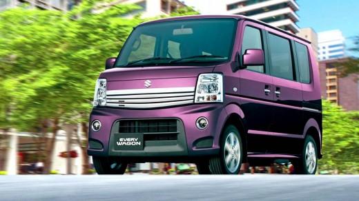 Suzuki Every Wagon  Z Turbo Exterior