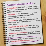 Personal Statement - Top tips
