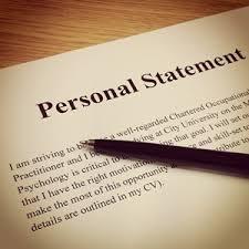 Personal Statment Sampl