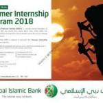 Dubai Islamic Bank Careers Summer Internship 2018