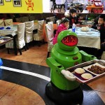 Robot Handles Functions of Waiter in Dubai