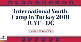 International Youth Camp in Turkey 2018