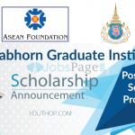 Chulabhorn Graduate Institute Scholarship 2019