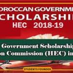 Morocco Government Scholarship 2018-19 (HEC)