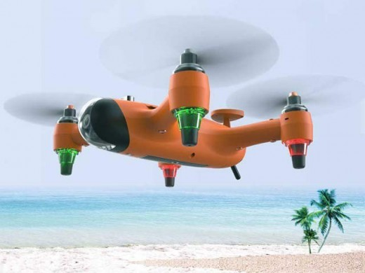 FIRST DRONE THAT HAVE THE CHARACTERISTICS OF SUBMARINE, SHIP AND AEROPLANE