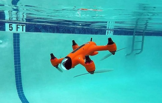 FIRST DRONE THAT HAVE THE CHARACTERISTICS OF SUBMARINE, SHIP AND AEROPLANE1