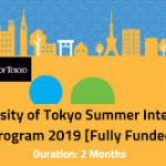 UTRIP Summer Internship in Japan