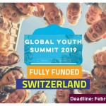Global Youth Summit Switzerland 2019