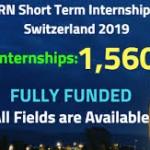 CERN Junior Fellowship Program 2019 Internship