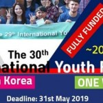 30th International Youth Forum 2019 South Korea