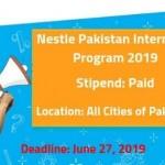 Nestle Pakistan Internship Program 2019