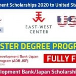 Asian Development Scholarships 2020 [Fully Funded]
