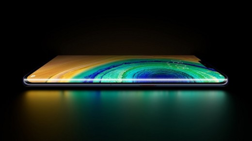 Huawei Mate 30 Series with Curved Screen Display