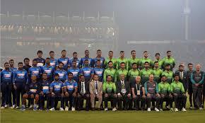 Pakistan and Srilanka Match