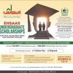 Ehsas Undergraduate Scholarships