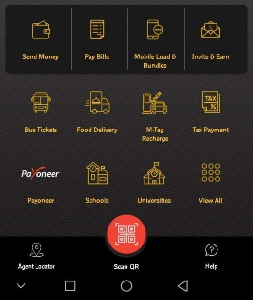 Jazz Cash Application receiving money from Payoneer