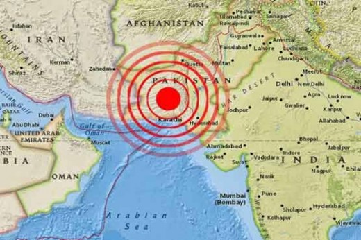 6.4 Magnitude Earthquake in Pak No Casualty Reported Yet