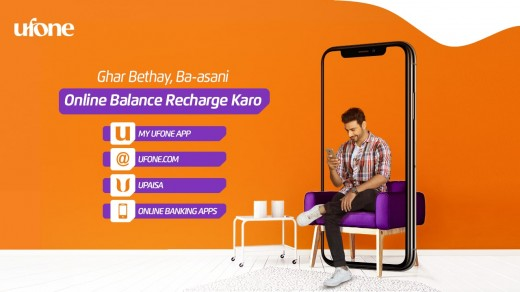 Ufone Presents Online Payment System For The Ease Of Its Users