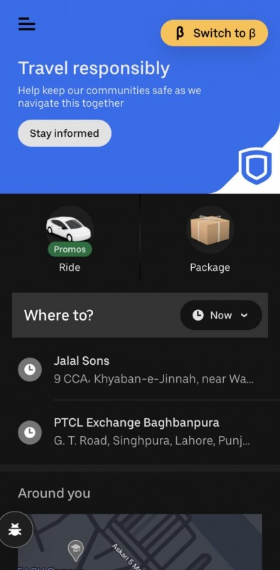 UBER Connect 1